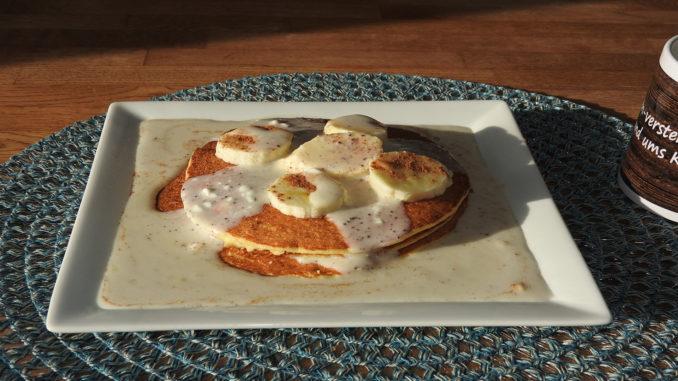 Pancakes mit Protein-Creme auf Kochen-verstehen.de