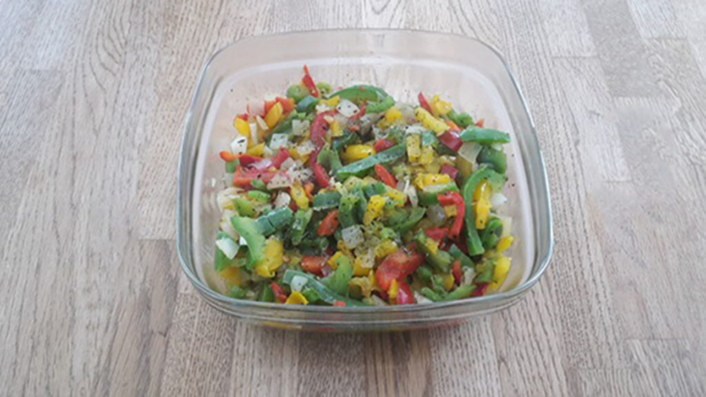 Paprikasalat (Rezept mit Bild) auf Kochen-verstehen.de