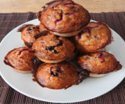 Protein-Muffins mit Fruchtfüllung