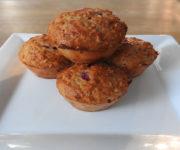 Protein-Muffins mit Himbeerfüllung