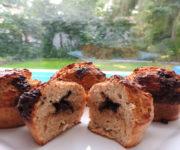 Protein-Muffins mit Schokofüllung
