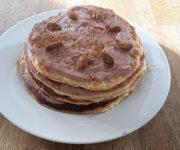 Protein-Pancakes mit Schokocreme