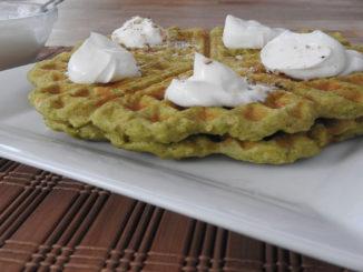 Protein-Waffeln mit Melonengeschmack auf Kochen-verstehen.de