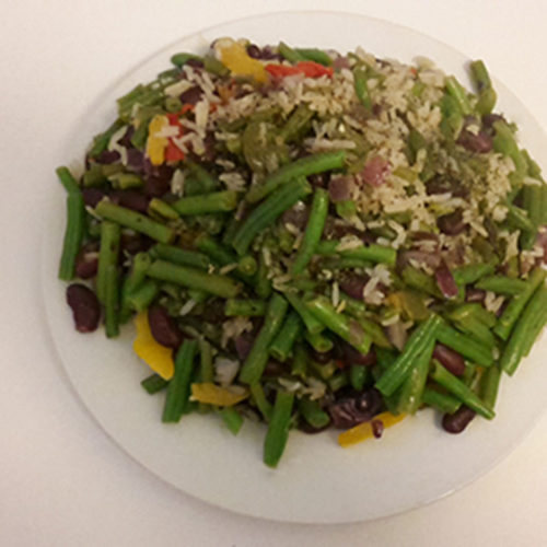 Reis mit Grünen- und Kidneybohnen (Rezept mit Bild) auf Kochen-verstehen.de