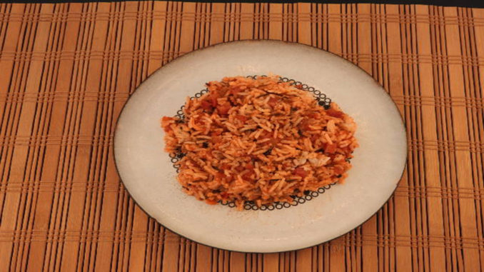 Risotto mit Schinken und Tomatensauce auf Kochen-verstehen.de