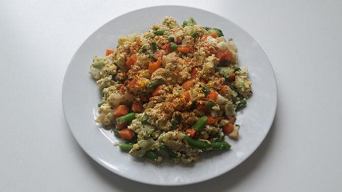Rührei mit Gemüse (Rezept mit Bild) auf Kochen-verstehen.de