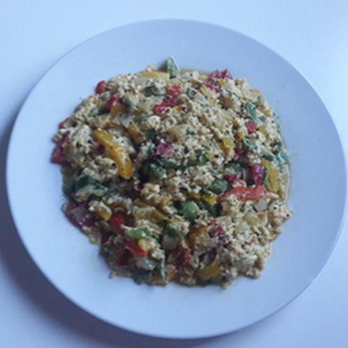 Rührei mit Paprika (Rezept mit Bild) auf Kochen-verstehen.de