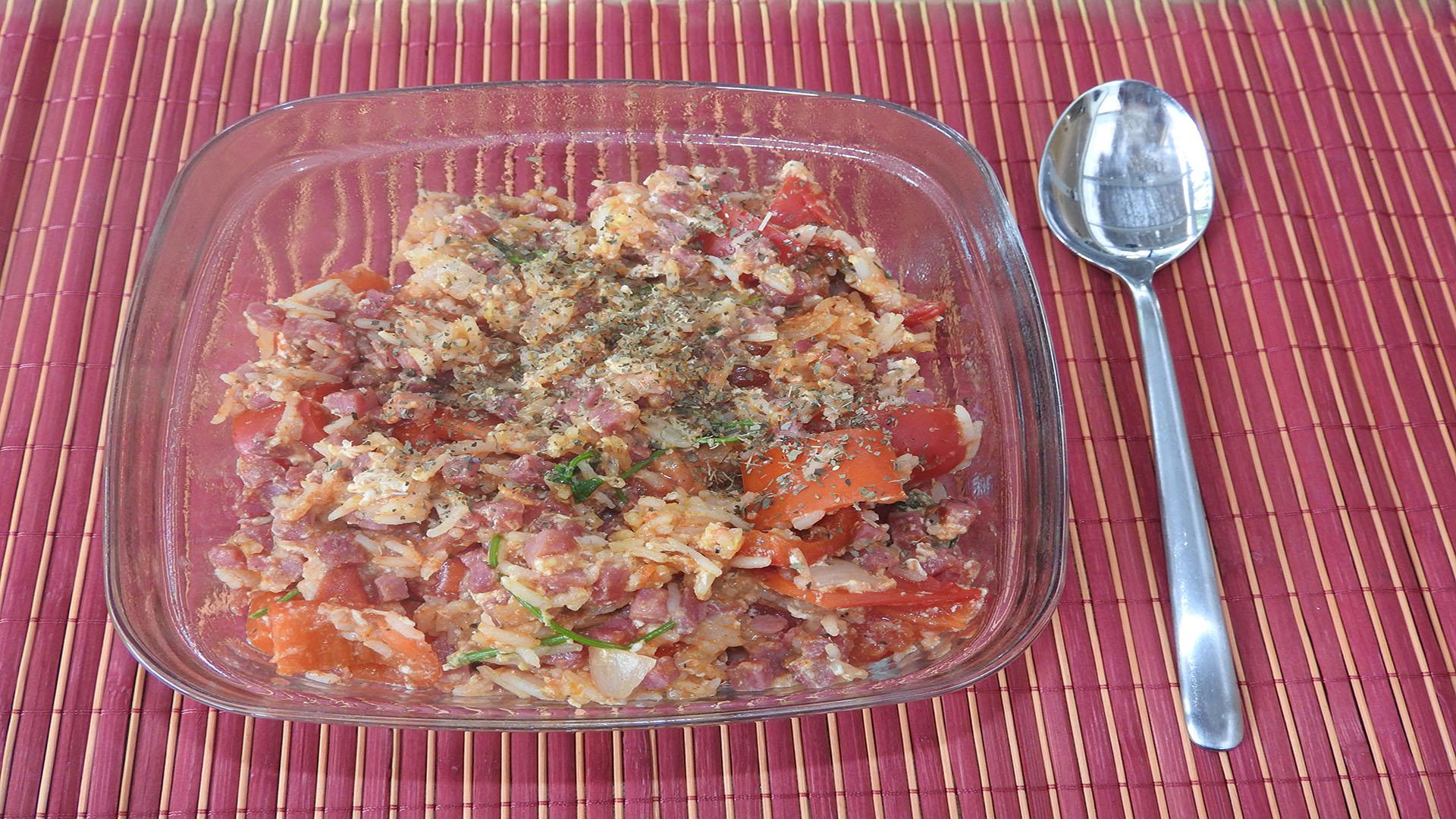 Rührei mit Schinken und Tomaten (Rezept mit Bild) auf Kochen-verstehen.de
