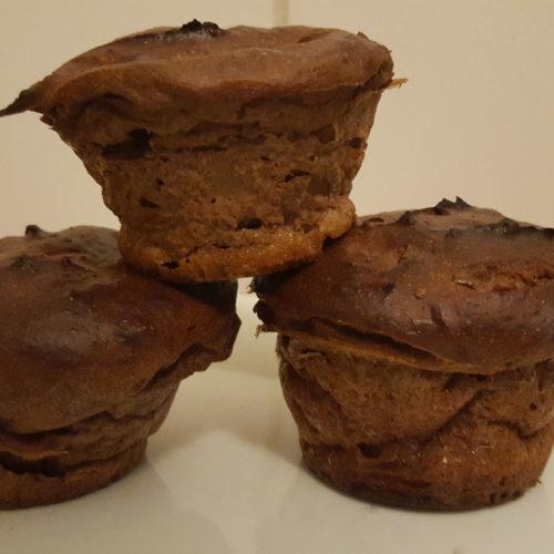 Schoko-Muffins aus Magerquark auf Kochen-verstehen.de