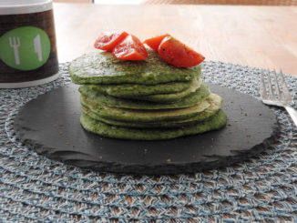Spinat-Pancakes auf Kochen-verstehen.de