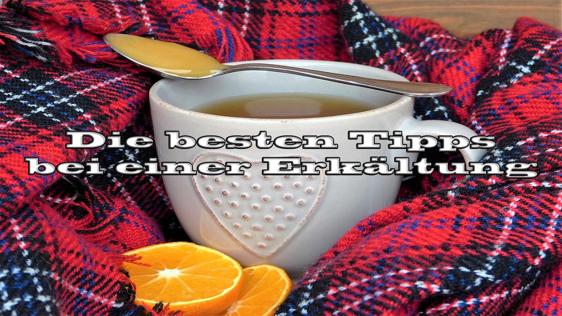 Tipps gegen Erkältungen auf Kochen-verstehen.de