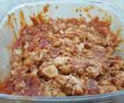 Tomatenfüllung mit Hähnchenfilet