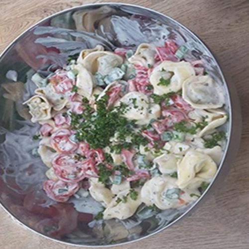 Tortellinisalat (Rezept mit Bild) auf Kochen-verstehen.de