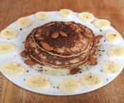 Vanille-Pancake mit Banane