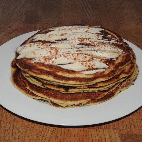 Vanille-Pancakes mit Karamellcreme (Rezept mit Bild) auf Kochen-verstehen.de