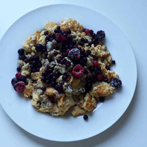 Vanille-Rührei mit Beeren (Rezept mit Bild) auf Kochen-verstehen.de