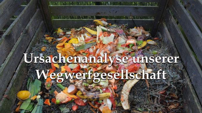 Ursachenanalyse unserer Wegwerfgesellschaft auf Kochen-verstehen.de