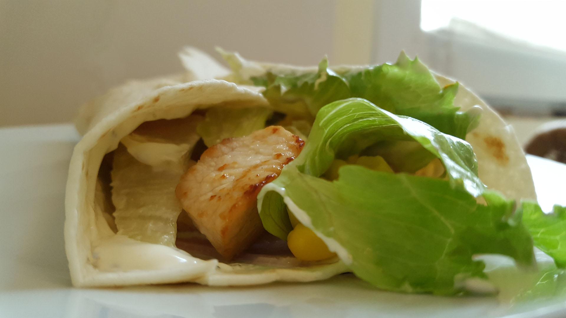 Wrap mit Hähnchenfilet auf kochen-verstehen.de