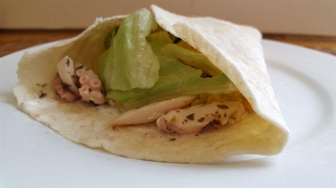 Wrap mit Meeresfrüchten auf kochen-verstehen.de