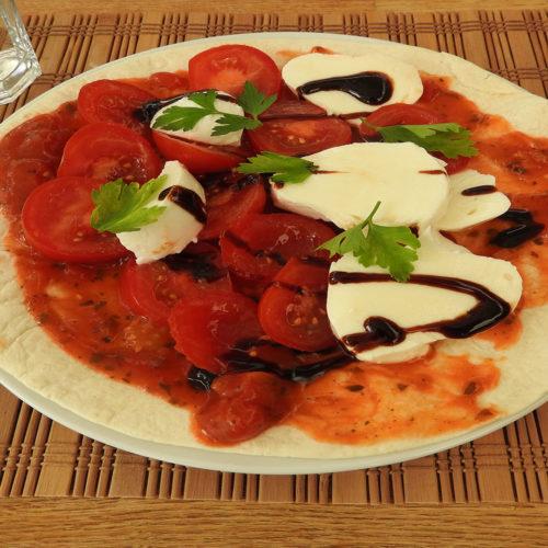 Wrap mit Tomaten und Mozzarella auf Kochen-verstehen.de
